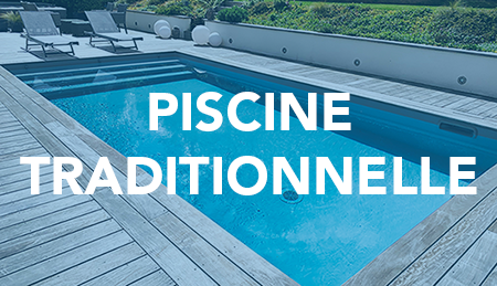 Construction de piscine traditionnelle dans le vexin